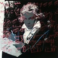 beethoven [ii.391] by andy warhol